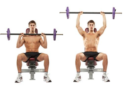 barbell-shoulder-press-hareketi