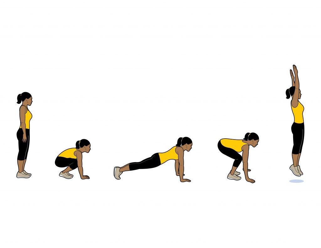 squat-thrust