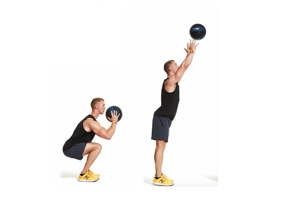 wallball-egzersizi